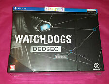 WATCH DOGS DEDSEC EDITION COLLECTOR SONY PS4 NEUF NEW 100% FRANCAIS