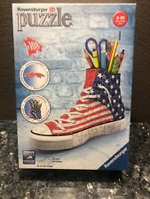 Ravensburger 3 D Puzzle Red White Blue Sneaker