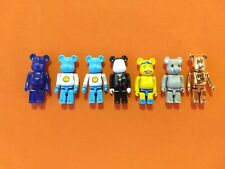 Lot of 7 Be@Rbrick Bearbrick Figures / Conrad Leach Oden To The People / Medicom