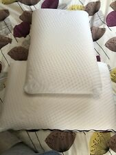 Pair Of Duvalay Memory Foam Pillows. Lovely Clean Condition. From Our Caravan