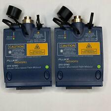 Fluke Networks Dtx Gfm2 Gigabit Multimode Fiber Module For Fluke Dtx 1800