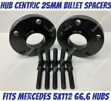 ALLOY WHEEL SPACERS SHIM UNIVERSAL 8mm X 2 FOR MERCEDES M14X1.5 661