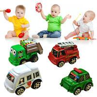 6pcs Lovely Classic Set Truck Vehicle Mini Pull Back Car Figures Kids Child Gift
