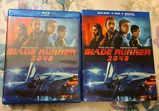 Blade Runner 2049 (Blu-ray/DVD & Digital(Unused) 2-Disc Set, 2018)LIKE  NEW