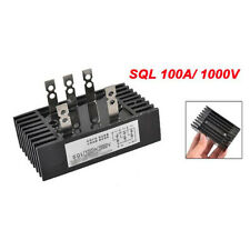 SQL 100A 1000V-Amp 3-Phasen-Diode Metallgehaeuse Brueckengleichrichter GY