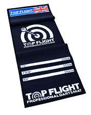 NEW DARTS MAT TOP FLIGHT PROFESSIONAL DARTS MAT SOFT FEEL CARPET NON SLIP