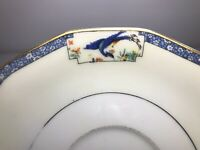 Vintage Theodore Haviland Limoges France Calcutta Cream Art Deco Peacock Saucer
