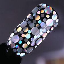 1 Box DIY Charm Holo Nail Glitter Sequins Flakes Laser Nail Art Mixed Size Tips