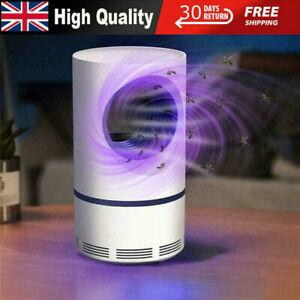 Electric Mosquito Killer Lamp USB UV Insect Fly Pest Bug Zapper Catcher Trap