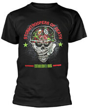 Stormtroopers Of Death (S.O.D) 'Helmet Head' (Black) T-Shirt - NEW