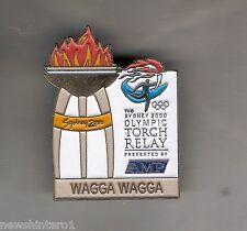 WAGGA  WAGGA  2000 OLYMPIC AMP TORCH RELAY PIN