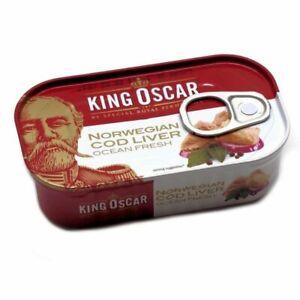 King Oscar Natural Cod Liver 121gr - 10 Pack
