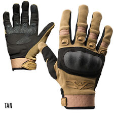 Valken Tactical Zulu Gloves Tan - Xx-Large Hard Covered Knuckles Padded Palms