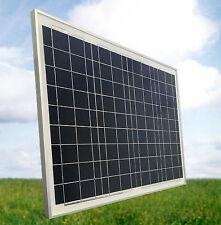 50 Watt Mono Solarmodul PV Solarpanel 12V *NEU* für Garten und Camping