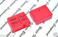 1pcs - WIMA MKS4 10uF (10µF) 100V 5% pich:27.5mm Polyester Capacitor