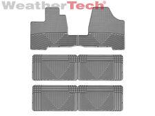 WeatherTech All-Weather Floor Mats - Toyota Sienna - 2004-2010 - Grey
