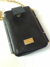Dolce & Gabbana AUTHENTIC (WPCR) Leather Cell Phone Shoulder Bag Iphone4 Apple