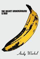 The Velvet Underground & Nico (Banana) by Andy Warhol Art Print 1987 Pop Poster