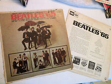 LP, The Beatles '65, Two Copies of LP, One Damaged Jacket, T2228 Mono, G