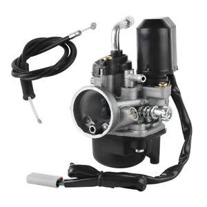 Sport Vergaser 17,5mm ink. E-Choke für Piaggio/Gilera/Aprilia 50ccm Roller DHL