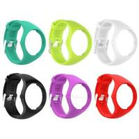 Silicone Wrist Band Bracelet Replacement with Buckle for Polar M200 Smart Watch