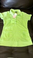 NWT pierre collection bbsp t shirt for girl youth size M green