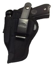 Gun Holster fits Hi Point 45 Protech Outdoors Black Nylon OWB