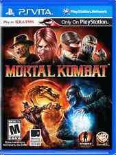 Mortal Kombat  (Sony PlayStation Vita, 2012) PS vita new