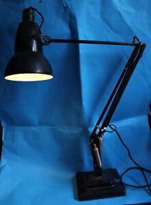 Herbert Terry 1227 Black 1950s Anglepoise Lamp