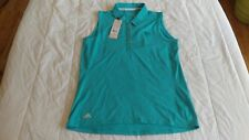 1 NWT ADIDAS WOMEN'S GOLF TOP, SIZE: SMALL, COLOR: ENBLHT  ***B201