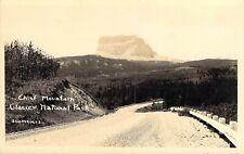 Chief Mountain, Glacier National Park, J. W. Meiers Photo, Polson, Mt., RPPC!