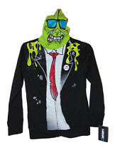 Tony Hawk Zombie Masked Hoodie Jacket Small Boys New