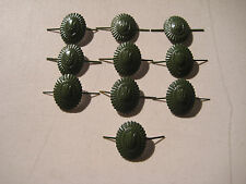 USSR UKRAINE MILITARY  INSIGNIA  CAMOUFLAGE HAT PIN  BADGE TRYZUB  LOT OF 10 PCS