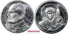 VATICAN 1985 POPE JOHN PAUL II MEDAL Unc Prooflike