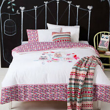 Kas Kids Cutie Patootie Single Bed 225 Thread Count Quilt Cover Set New