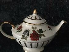 Stunning Vintage Arthur Wood Rose Teapot  Made in England 5507