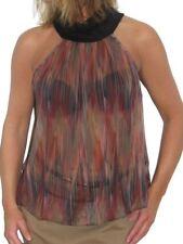 ICE Ladies Chiffon Top Backless Halter neck Multi Colour 6-12