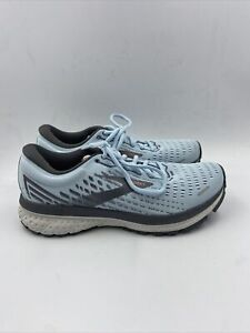 Brooks Womens Ghost 13 Light Blue Sneakers Size 7.5 M , 102