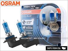 NEW! HB4 9006 OSRAM Cool Blue Boost (CBB) Halogen Headlight Bulbs 5000K 69006CBB