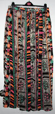 LADIES LONG NEXT SIZE 14R SUMMER PLEASTED SKIRT MULTICOLOUR NEW WITHOUT TAGS
