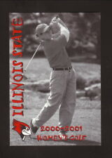 Illinois State Redbirds--2000-01 Golf Pocket Schedule--Country Companies