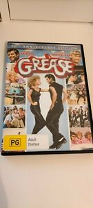 Grease 30th Anniversary Edition DVD (PG, 1977) John Travolta 2 Disc Rockin Edit