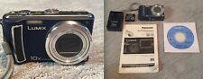 Panasonic Lumix DMC-TZ5 blue digital camera 9.1 MP 10x zoom