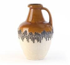 Boden-Blumen-Vase Lava-Keramik Fifties pottery ceramic ceramique german