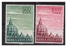 VATICANO - 1958  POSTA AEREA CUPOLONE  SERIE  NUOVA **