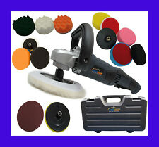 PLATINUM CAR POLISHER BUFFER PRO WITH 15 HEADS