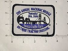 2nd Annual Mackinac Bridge Antique Tractor Crossing Patch