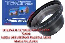 Tokina 72mm Weitwinkel Objektiv Sony Canon Kodak Nikon Panasonic alpha a mount