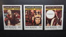 """FRANCOBOLLI SAN MARINO 1990 """"CINEMA - I GRANDI DELLO SPETTACOLO"""" MNH** SET (C.2)"""