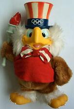 ORIG. mascota juegos olímpicos de los angeles - 1984 Sam/con antorcha!!! Top